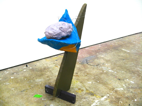 recent work untitled (blue)