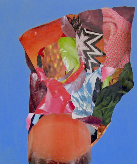 painting & collage untitled