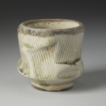 Cups and Mugs porcelain, shino glaze, natural ash glaze