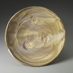 Plates and Platters  porcelain, slip, sea shells, natural ash glaze