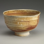 Tea Bowls Stoneware, inclusions, natural ash glaze