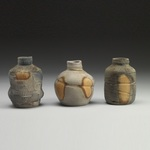 Vases and Bottles Stoneware, wadding, natural ash glaze