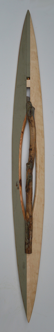 Melinda Rosenberg Boats stick, marble, maple, part of a porch