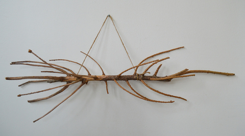 Melinda Rosenberg Bent Tool Series two Christmas tree tops