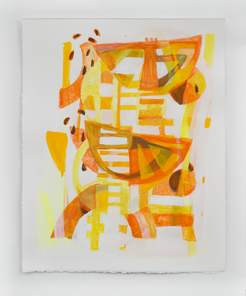 MELISSA CAPASSO Works on Paper Gouache on Paper