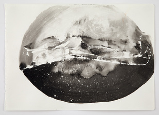 Shape of Night (2013-14) Ink on Paper
