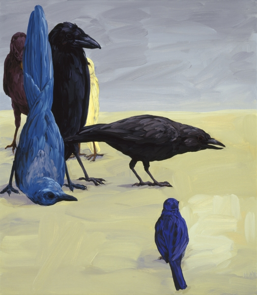 Oils Bird Composition II