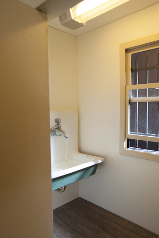 Meredith James Room with Sink