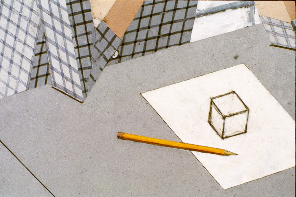Paintings 2000 to present Detail of Cube