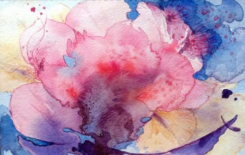Miae Cho Water Color-'Abstract'  2011-2012 Water Color