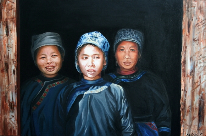 'Faces'  Three Women