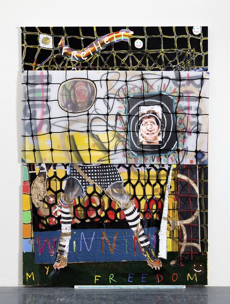 MIKE SHULTIS Funny Money (2016-17) Mixed Media on Canvas