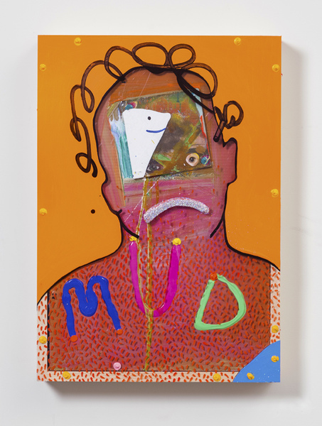 MIKE SHULTIS Funny Money (2016-17) Mixed Media on Panel