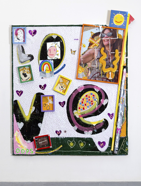 MIKE SHULTIS Funny Money (2016-17) Mixed Media and Bassoon on Panel