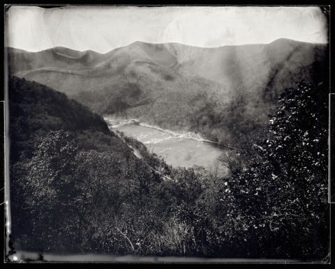 Overlook, Route 501 between Snowden and Glasgow, 2012