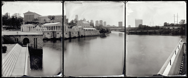 Water Works and Philadelphia Museum of Art, 2012
