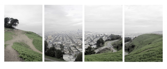 Looking North from Bernal Heights, San Francisco, 2010