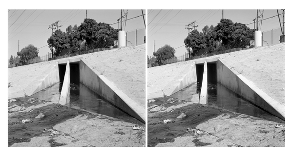 Water Treatment Outflow, Los Angeles River (CA)