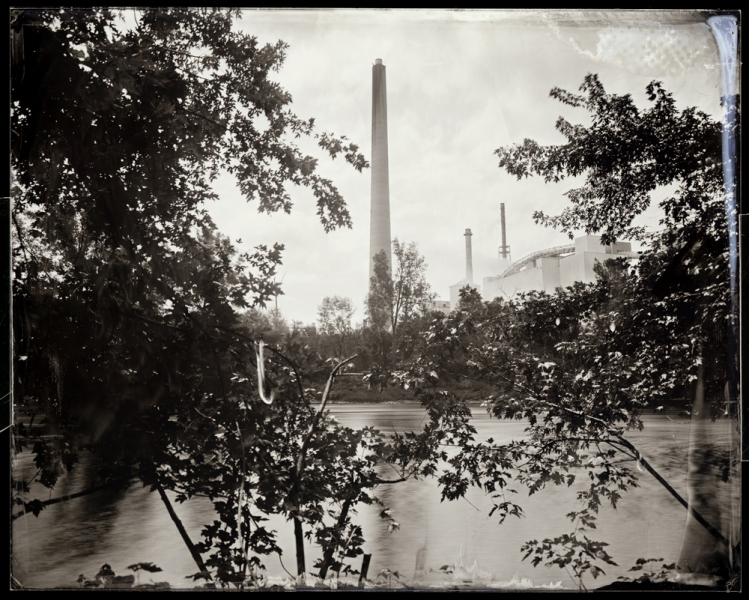 Michael Kolster Androscoggin River (ME) archival pigment print from scanned ambrotype