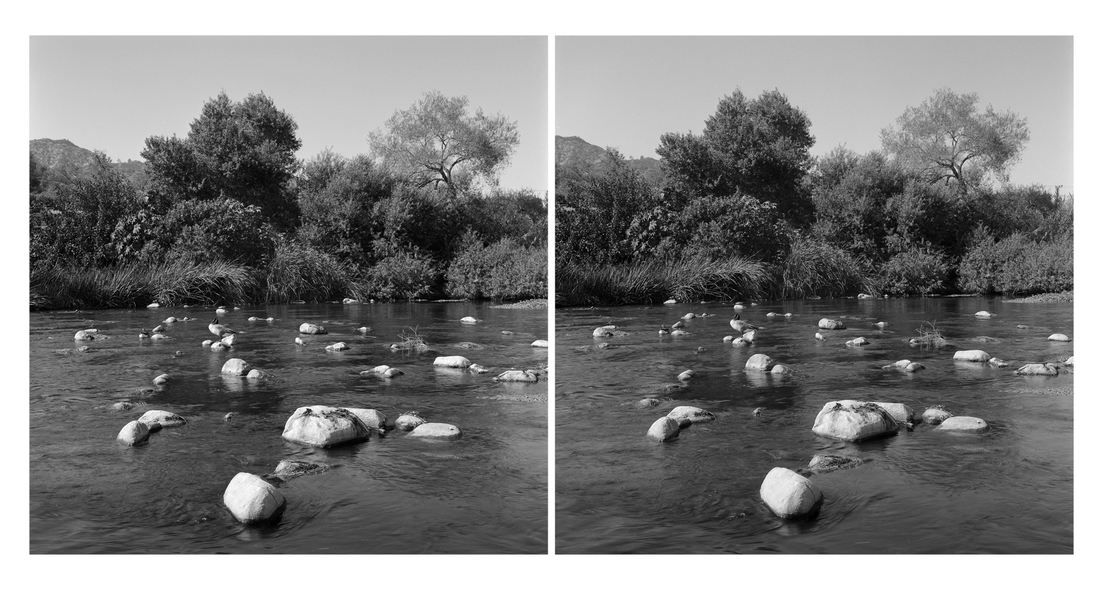 Stereo Pairs near Los Feliz Blvd., Los Angeles River (CA)