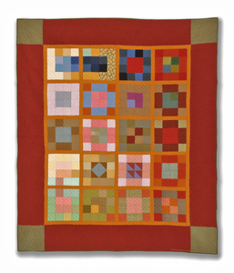 Michael James Studio Quilts Selected work 1975 - 1984 cotton, wool & blends; hand-sewn