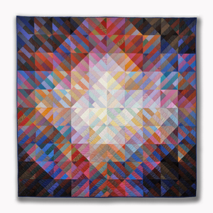 Michael James Studio Quilts Selected work 1975 - 1984 cotton; machine-sewn
