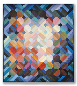 Michael James Studio Quilts Selected work 1975 - 1984 cotton; hand-pieced & hand-quilted
