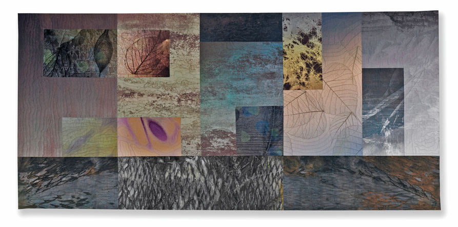 Michael James Studio Quilts Ambiguity & Enigma cotton, dyes & pigment