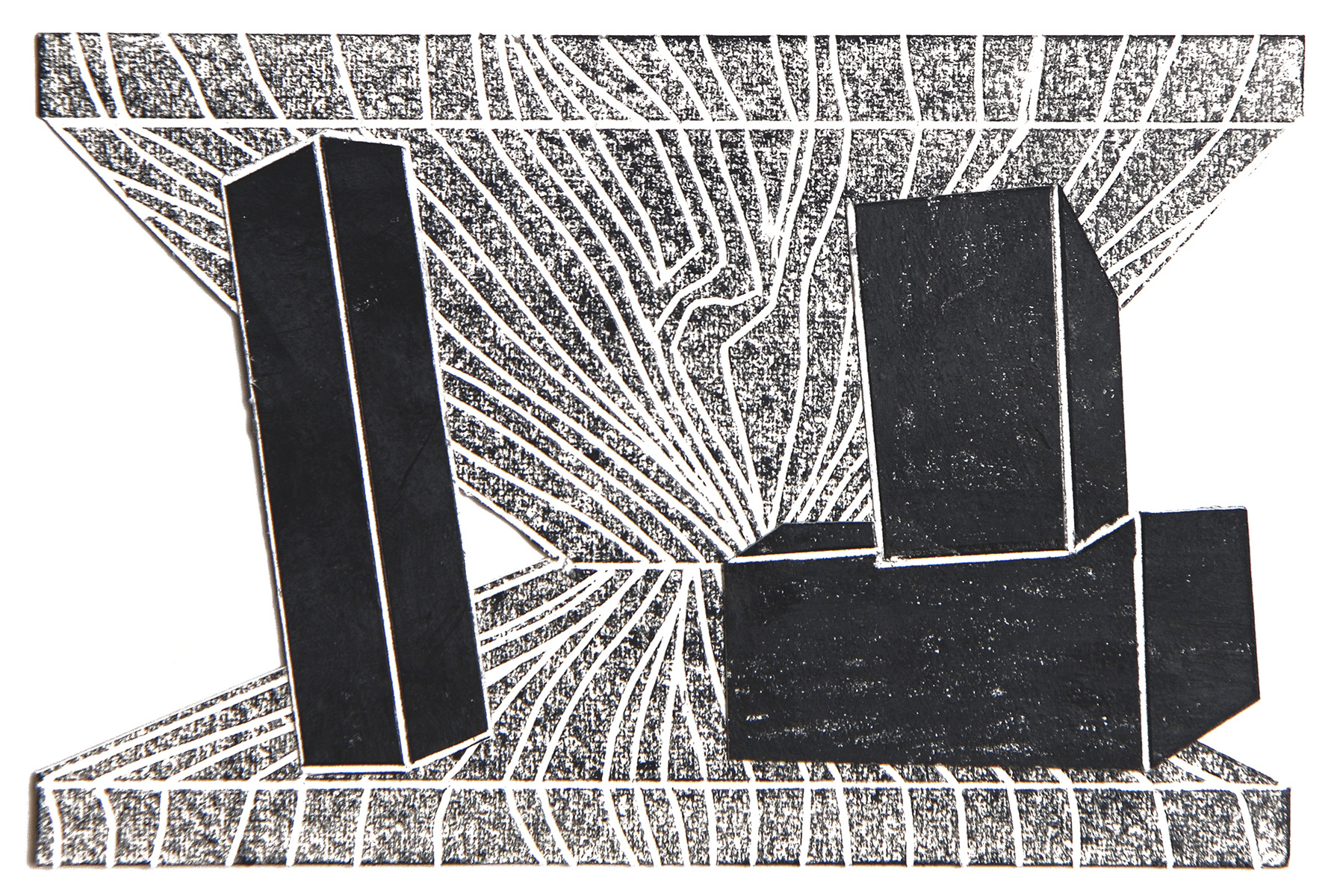 black drawings 2014-2015 Untitled