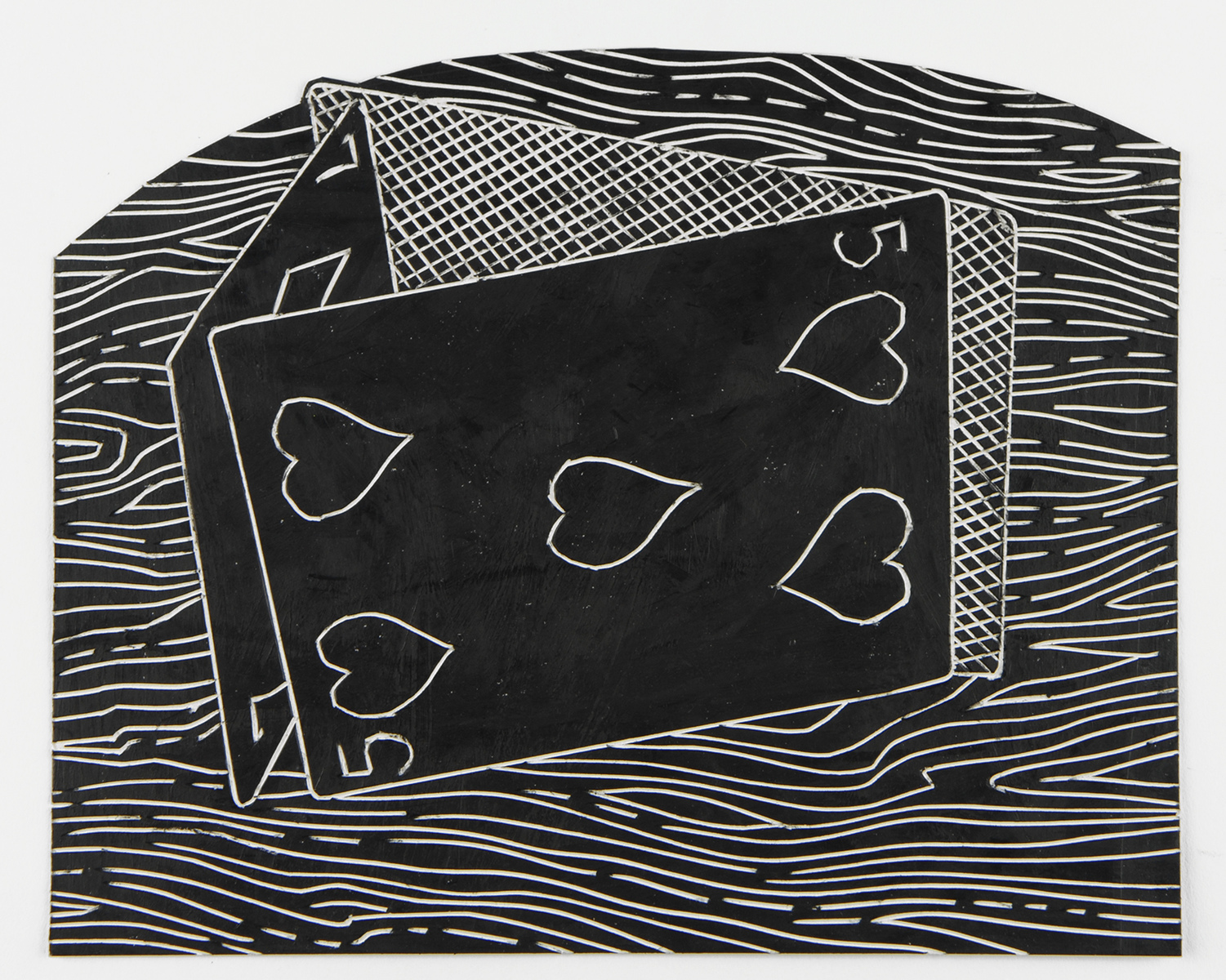 black drawings 2014-2015 Card House
