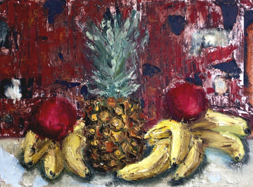 PAINTINGS OIL ON CANVAS Crabby