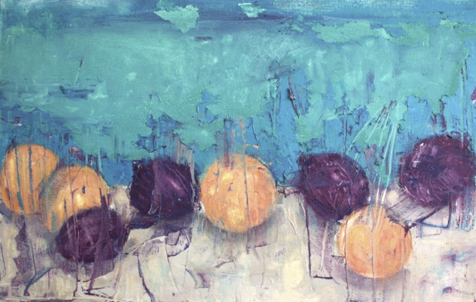 PAINTINGS OIL ON CANVAS Onions & Oranges