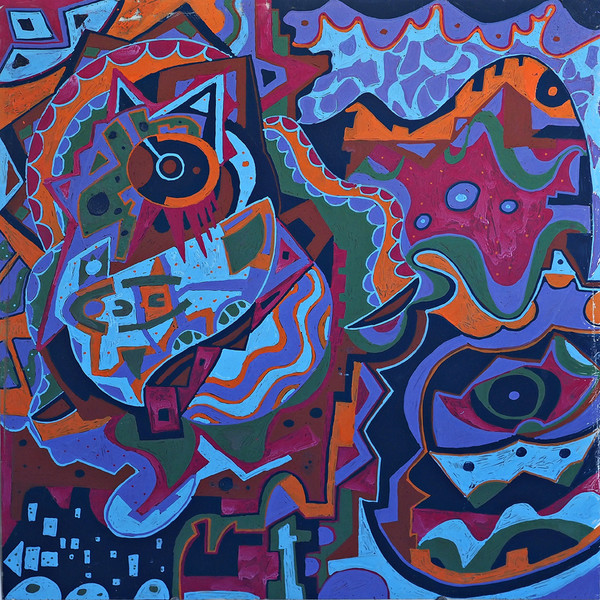 PAINTINGS 2015-PRESENT Ecstatic Fusion