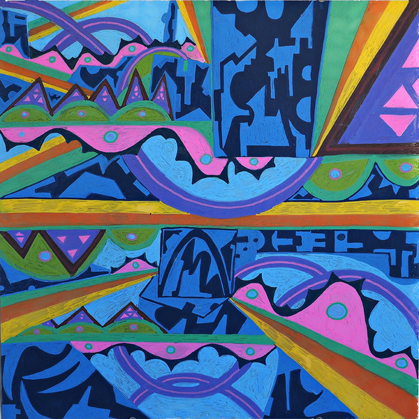 PAINTINGS 2015-PRESENT Subterranean Pathways