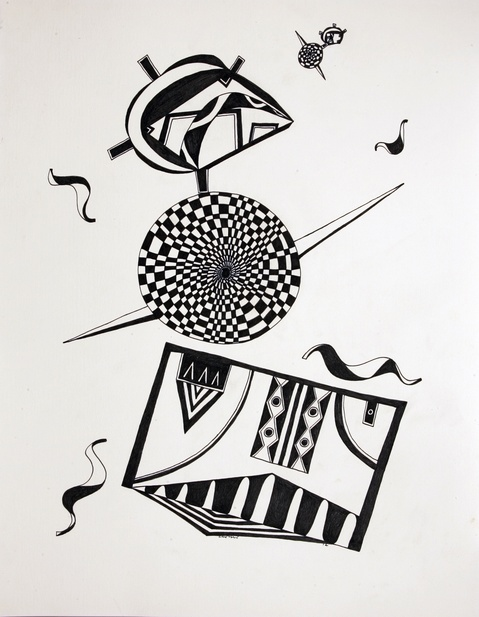 BLACK & WHITE ILLUSTRATIONS Untitled