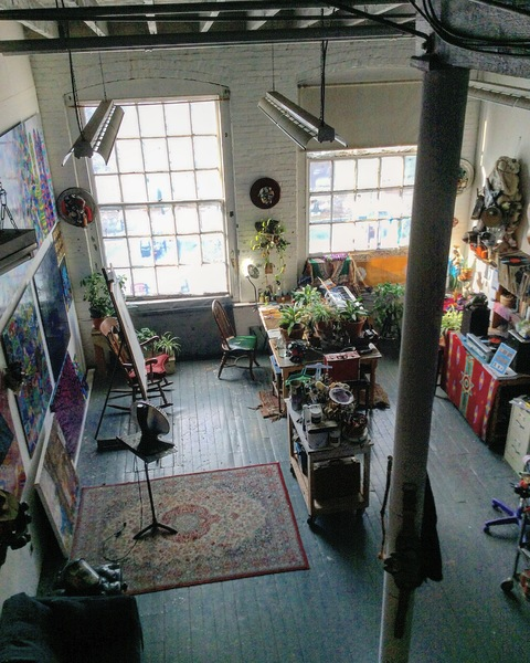 PHOTOS ARTIST STUDIO/EXHIBITS   Studio