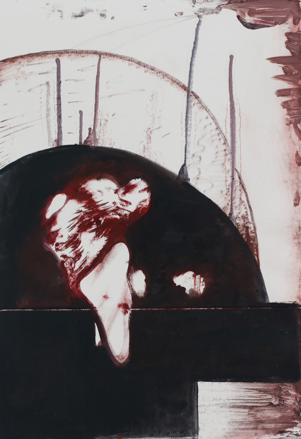 Michael Zansky  Easter Sunday Monotypes
