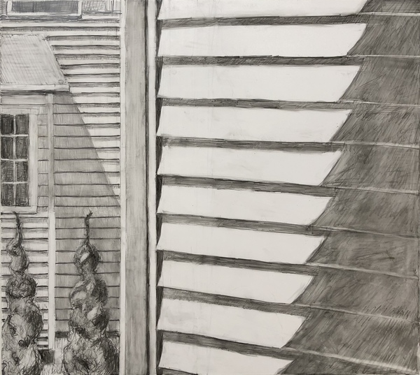 Michele BonDurant Drawings graphite on yupo