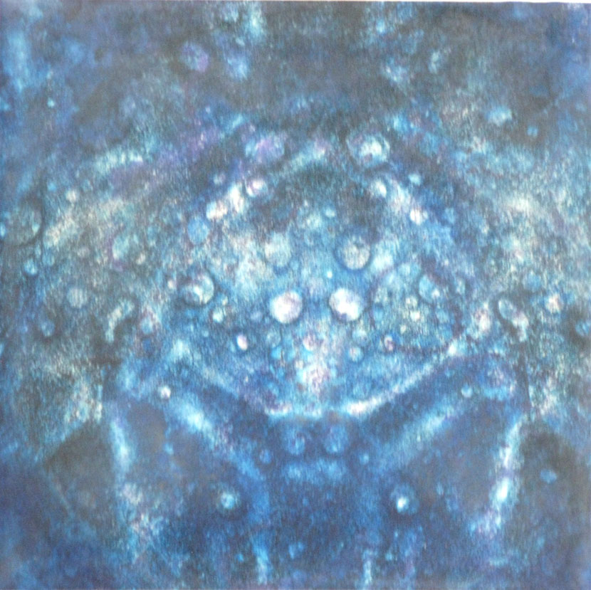 Monotypes on Panel Pulsars