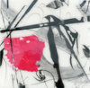Mixed Media Encaustic Monotypes, Acrylic. Ink on Panel