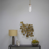 Michelle James NYC  <br/>MATERIALS:  brass, UL listed electrical components, 1 vintage chrysler glass globe<br/>