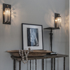Michelle James NYC  <br/>MATERIALS:  brass, UL listed electrical components, crystal<br/>