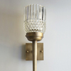 Michelle James NYC  <br/>MATERIALS:  brass, UL listed electircal components, 1 vintage glass globe<br/>