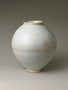 Mie Kongo 2014 - Yellow band vase