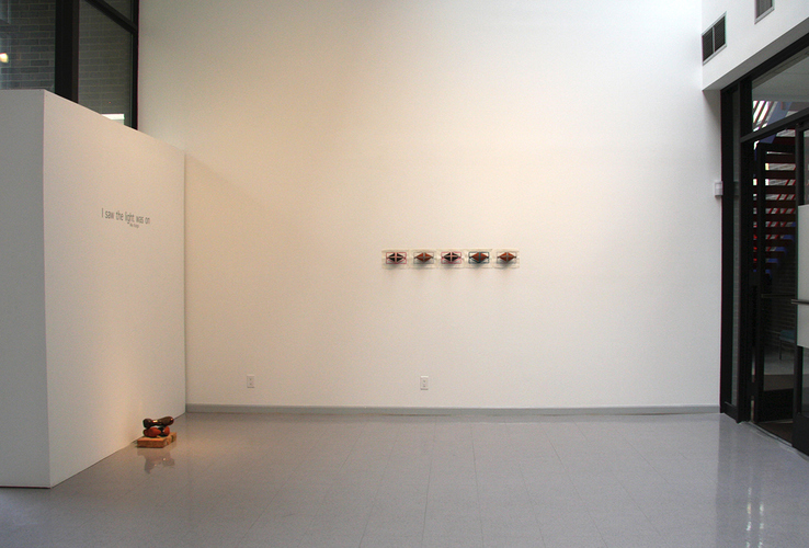 "Mie Kongo 2012 - ""I saw the light was on"" at Heuser Art Gallery, Bradley University, Peoria, IL"
