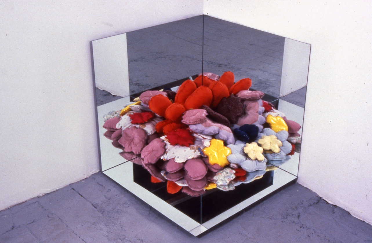 Assholes - 1998 to 2004 Corner Mirror Displacement, after Robert Smithson