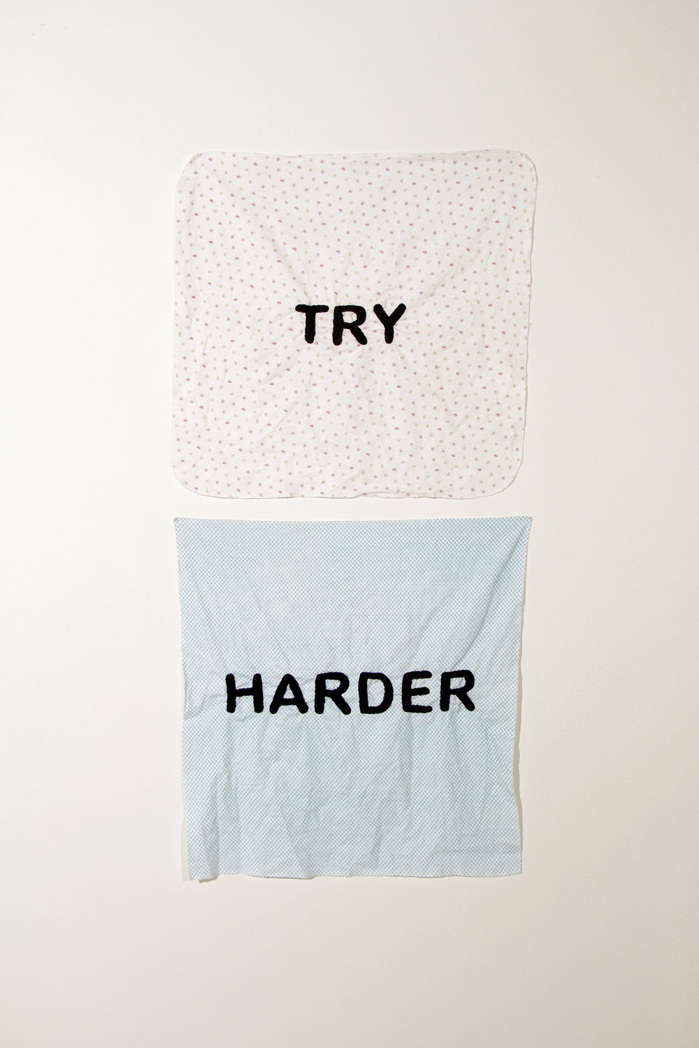 Embroidery: Try Harder -  2010 to present Try Harder