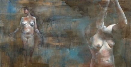 Mira Gerard Selected early work acrylic and oil on linen