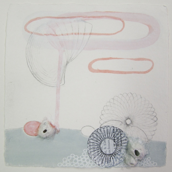 Beth Dary Sarah Lutz Drawings All drawings are mixed media on handmade paper