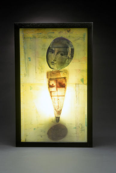 MARYJEAN  VIANO  CROWE LIGHT BOXES: Altar Ego